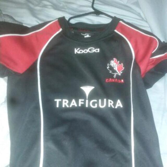 Team Canada Rugby Jersey