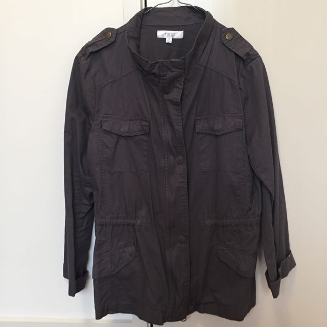 BRAND NEW TEMT Trench Jacket Size 14