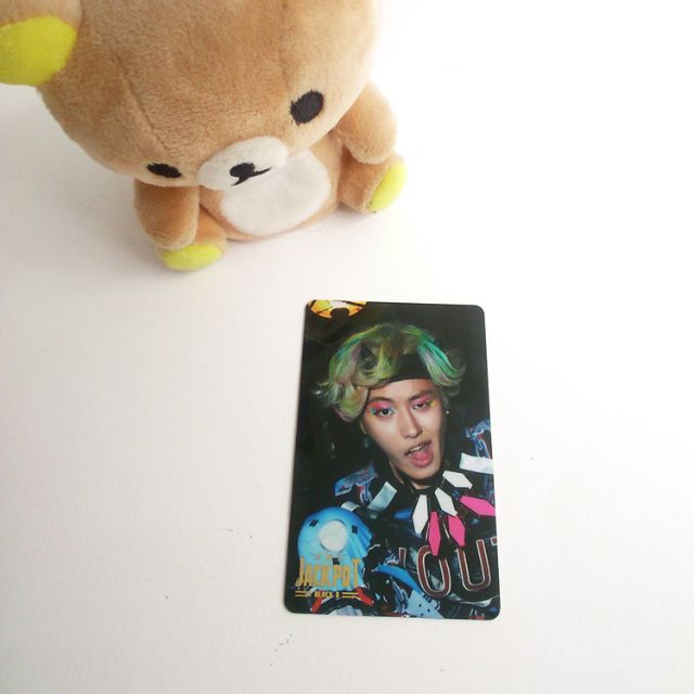 TRADE (WTT) Block B Jackpot Ukwon photocard