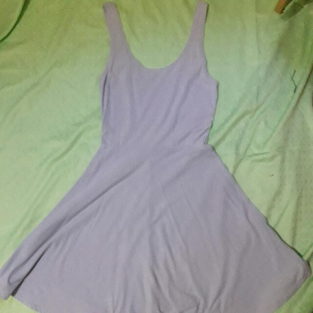 Violet Skater Dress