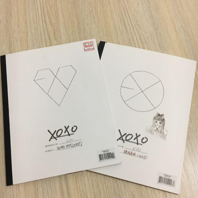XOXO EXO Album Korean & Chinese Version