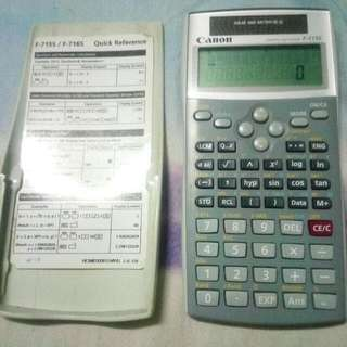 Canon Scientific Calculator F-715S
