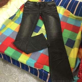 全新Lee超纖瘦黑色牛仔褲
