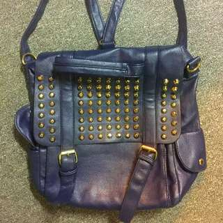 STUDDED BAGPACK FOR SALE (MARKED-DOWN)