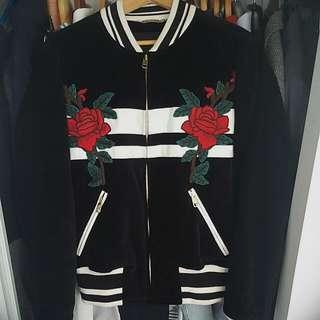 Dolce & Gabbana Velvet Bomber (Medium)