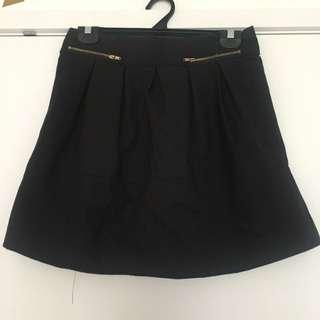 Dotti Black Skirt