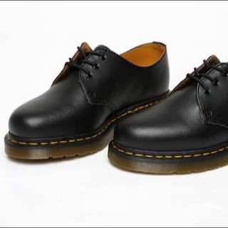Black Low Top Doc Martens