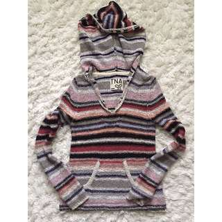 Aritzia TNA Baja Hooded Sweater size XS