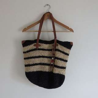 Roxy Woven Beach Bag