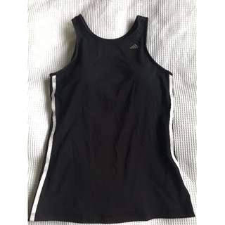 Adidas Climacool Activewear tank with built in bra, size 14
