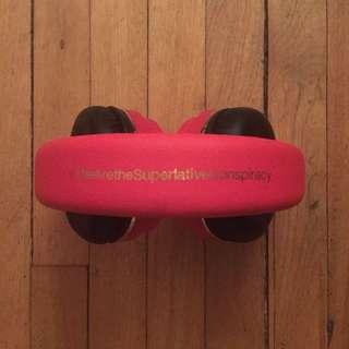 WESC Headphones - Red