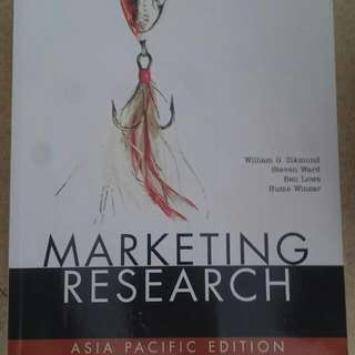 Marketing Research Text Book. Asia Pacific Edition