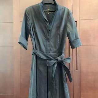 Clathas 黑色5分袖洋裝
