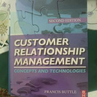 Customer Relationship Management Concepts And Technologies, Unisa Management Course Textbook