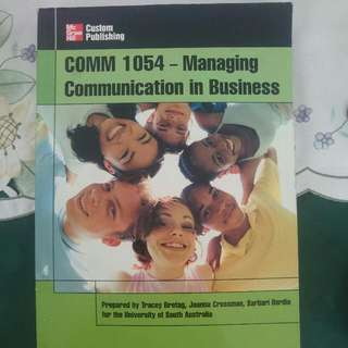 Comm 1054- Managing Communication In Business