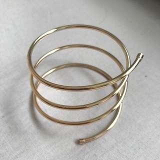 Gold Arm Cuff