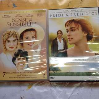 Jane Austen DVDs Orig