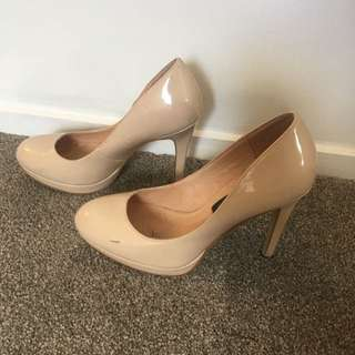 Forever New Nude Heels