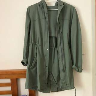Rusty Anorak Comes With Removable Wool Insert