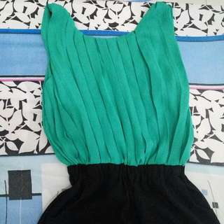 SALE!Green jumpsuit Sorella