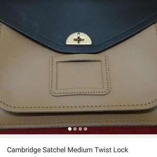 Cambridge Satchel Twist Lock