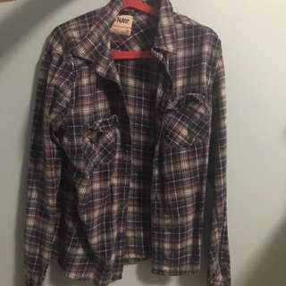TNA Plaid Shirt