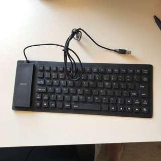 Roll Up Key Board