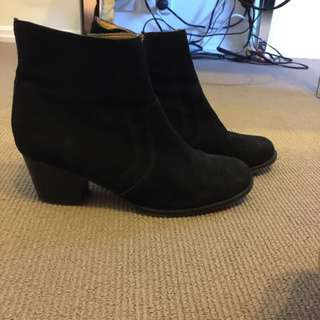 Suede Tony Bianco Boots