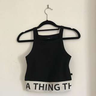 A Thing Thing Crop Top