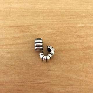Pandora Clips 'Cogwheel' (two pieces)