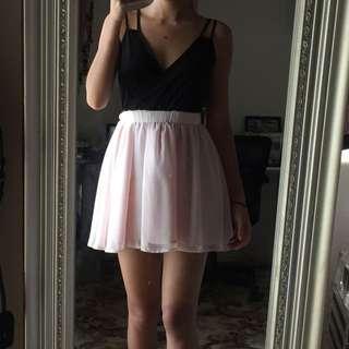 Black-Pink Dress