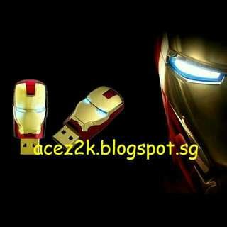 [BN] 64GB Ironman USB Thumbdrive Flashdrive (Brand New)
