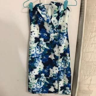 TEM Bustier Floral Dress