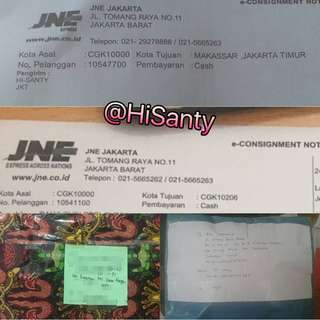 Resi Pengeriman (trusted)
