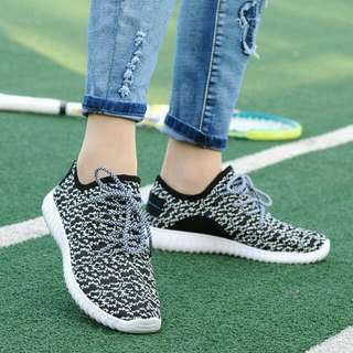 PO SALE!🔥Black / Grey / Red Air Mesh Casual Shoes / Sneakers