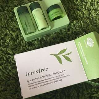 [NEW] Innisfree Green Tea Balancing Kit