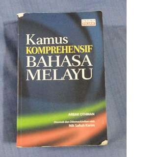 Kamus Komprehensif Malay