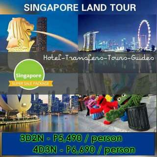 SINGAPORE W/ CITY TOUR PROMO LAND ARRANGEMENT