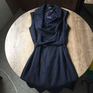 C. Luce Navy Blue Dress