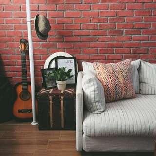 FrancFranc 3-Seater Comfy Sofa