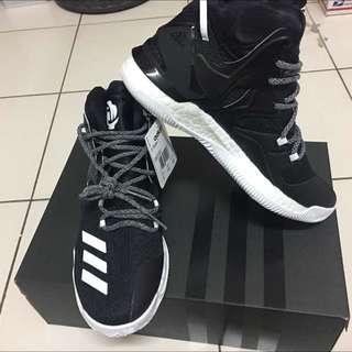 Adidas黑色籃球鞋(正貨)