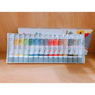 開學季🎨Pentel飛龍水彩顏料軟管包裝 15色和8色🎨