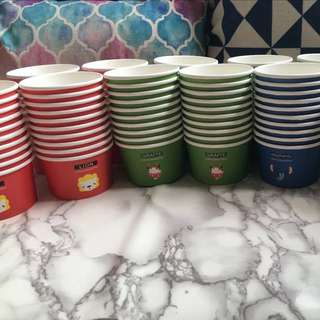 Cute Animals Food Grade Paper Cups