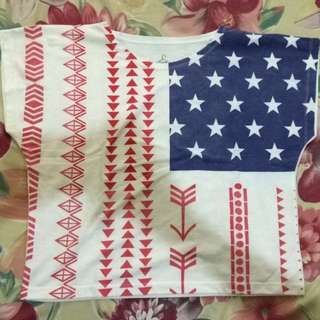 Flags Crop top