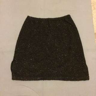 Sparkley Glitter Fluffy Skirt