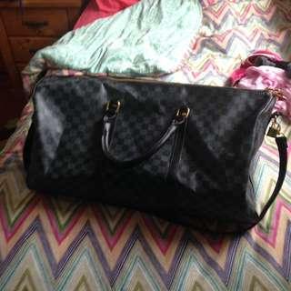 Louis Vuitton Duffle Bag hand bag man bag shoulder bag backpac alt