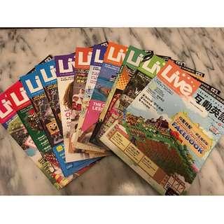 Live 互動英文 中級 英語雜誌 自學 全民英檢中級 適用 過期雜誌 便宜賣