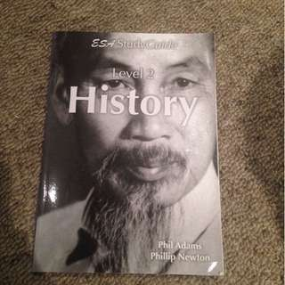 ESA Study guide level 2 history