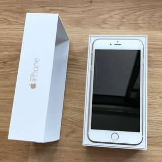 Iphone 6 Plus 128 gb Gold New With Warranty