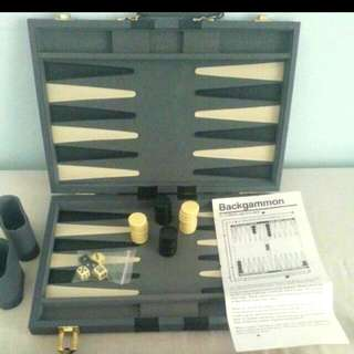 Backgammon Board Game.